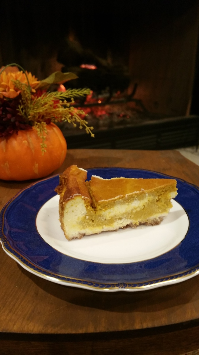 Low Carb Pumpkin Pie Cheesecake